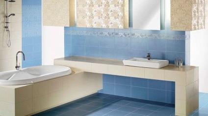 fürdőszoba tervezés, fotó csempe