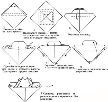 Танки из оригами своими руками оригами