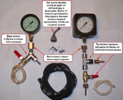 Как сделать топливомер своими руками