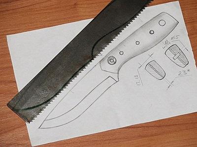 Как сделать форму ножу 177