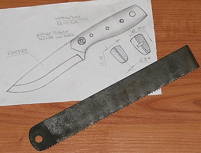 Как сделать форму ножу 879