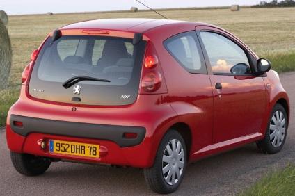 Peugeot 107 - gazdaság határok nélkül