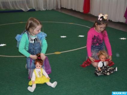 Посібник для дітей старшої групи для тренування зав'язування бантиків «банти, бантики, косички»