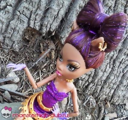 Как сделать куклу волосы монстер хай 658