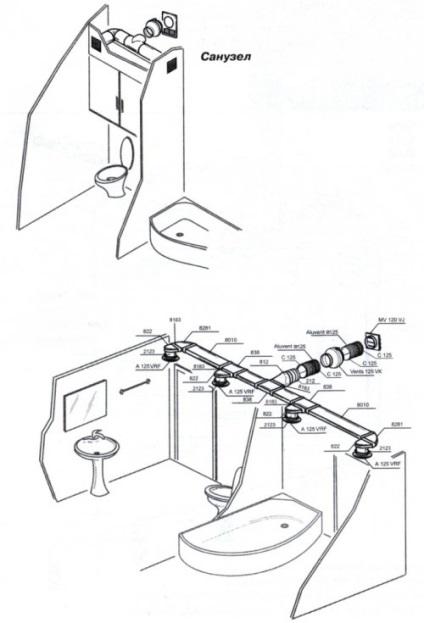 Вентиляция в ванной и туалете своими руками в частном доме 26