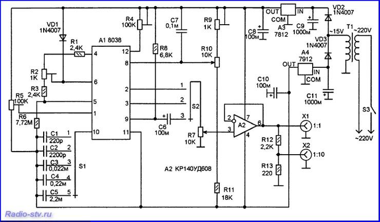Простой функциональный генератор своими руками5
