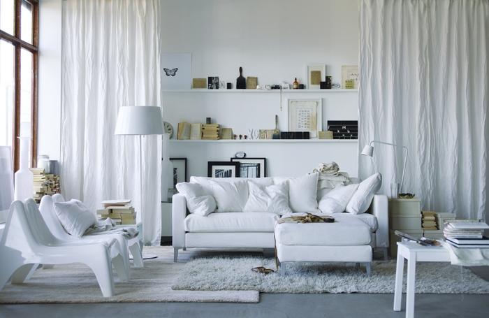 IKEA katalógus fotók enteriőrök és bútorok