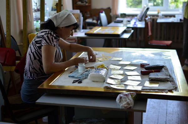 Orosz tudósítója a bolygó megtanulni, hogyan válhat egy festő