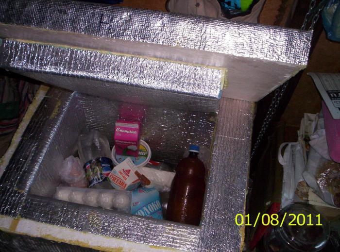 Простейший холодильник своими руками 93