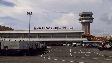 Repülőtér Bali Indonézia cím