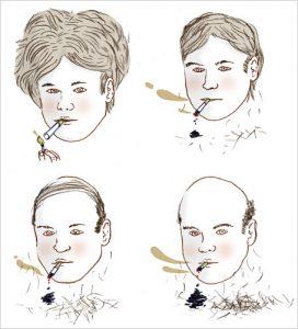 hogyan befolyásolja a dohányzás a hajat a dohányzásról való leszokás legjobb módja