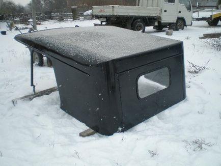Как сделать крышу на уазе 824