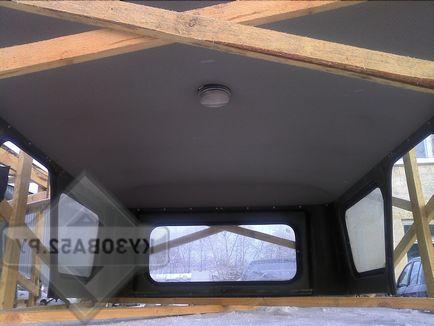 Как сделать крышу на уаз