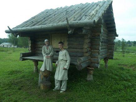 Szláv falu x században