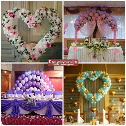 Свадьба украшения зала на свадьбу своими руками 84