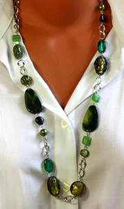 Ожерелье с бусинами своими руками фото 634