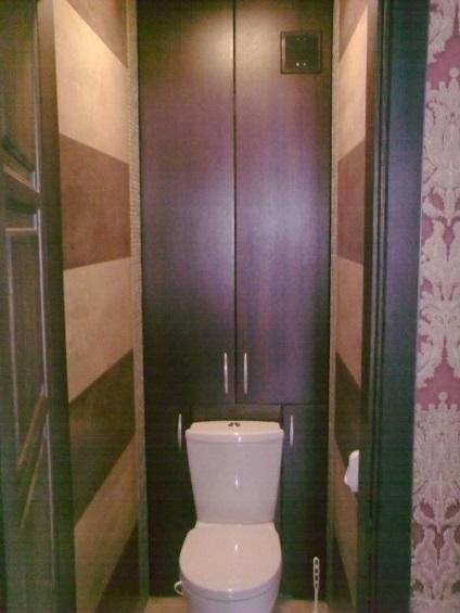 Как своими руками сделать шкафчик в туалете 1