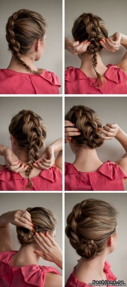Простые прически на средние волосы каждый день поэтапно фото