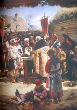 українські звичаї і забобони на паску