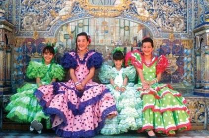Іспанська костюм (53 фото) національний костюм для танців 8e6fb3173ffc4