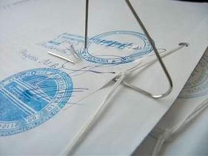 Как должны быть сшиты документы 492