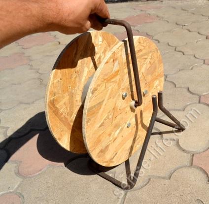 Катушка для провода своими руками