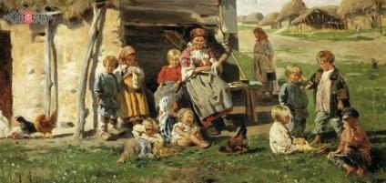Helyét és szerepét az ember ősi Oroszország