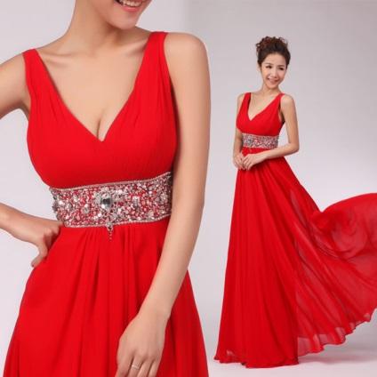 Какое платье сшить красное платье 45