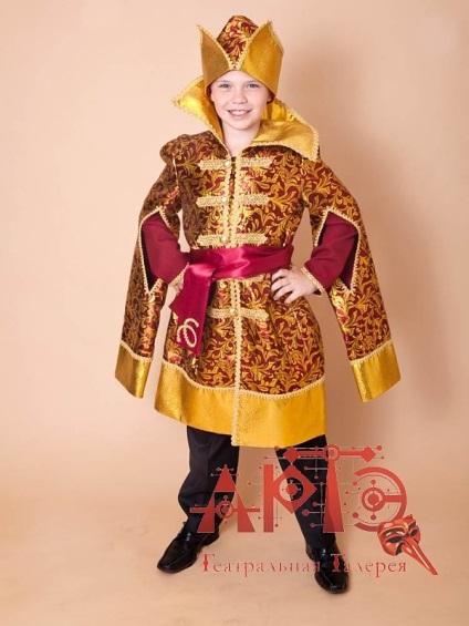 Как сделать костюм царевича своими руками 886