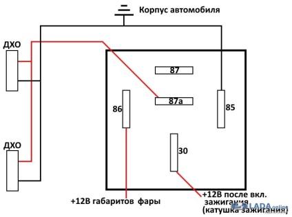 дхо схемы лада ларгус на подключения