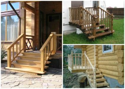 lépcső a házban fajtái és jellemzői