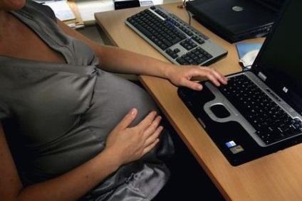Вагітність і комп'ютер вплив пристрої на плід