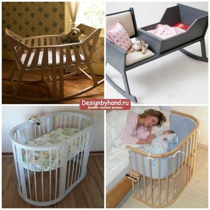 Как сделать детскую кроватку своими руками для новорожденного 77