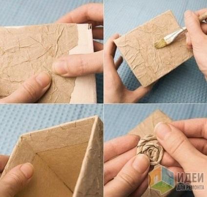 Как сделать из картонной бумаги 840