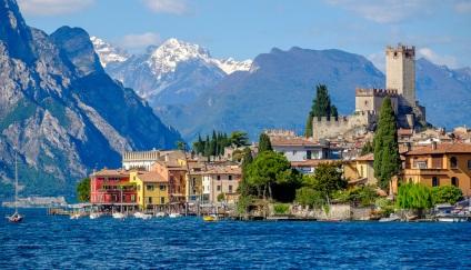 Як дістатися до озера гарда, італія • замітки подорожуючого пасажира