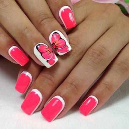 Популярные дизайны ногтей гель лаком