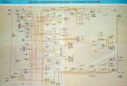 Схема всех реле автомобиля камаз