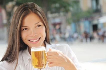 Пиво користь, шкода, вплив на жіночий організм і схуднення