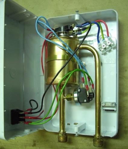 Сделать проточный водонагреватель электрический своими руками 71