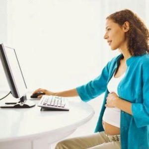 Шкода комп'ютера під час вагітності