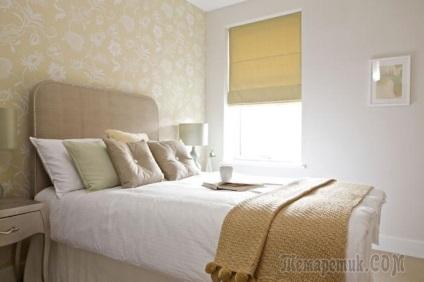 Példák tervezési hálószoba a kis lakások