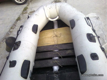 Как сделать килевую лодку 132