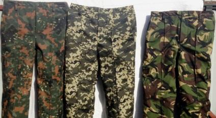 Чоловічі камуфляжні штани - молодіжний одяг в модному армійському стилі 9189bc0042e9e
