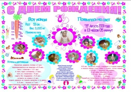 Стенгазета ко дню рождения ребенка своими руками 34