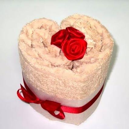 Как оформить в подарок полотенце 87
