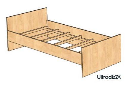 Как собрать кровать из дсп своими руками 17