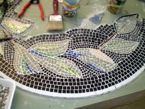 Изготовление мозаичной плитки своими руками 64