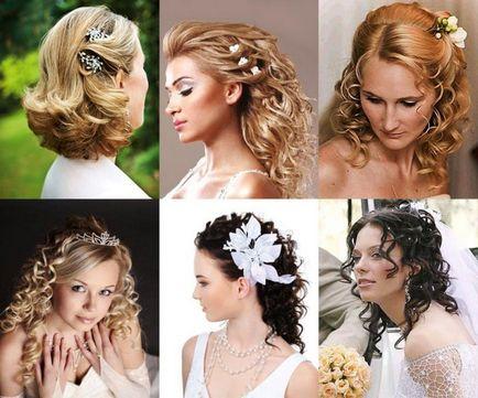 Свадебные прически на длинные волосы с челкой фото своими руками 37