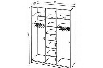 Проектирование шкафов купе своими руками 67