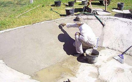 Как сделать бетонные стены своими руками 13
